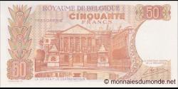 Belgique - p139c - 50 Francs / Frank - 16.05.1966 - Royaume de Belgique - Trésorerie / Koninkrijk Belgie - Thesaurie