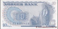 Norvège - p36c - 10 Kroner - 1982 - Norges Bank