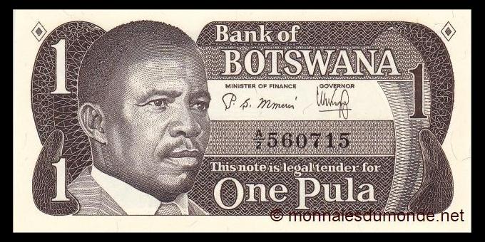 Botswana - p06 - 1 Pula - 1983 - Bank of Botswana / Banka ya Botswana