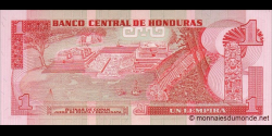 Honduras - p068a - 1 Lempira - 1980 - Banco Central de Honduras