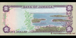 Jamaïque - p64a - 1 Dollar - 1982-86 - Bank of Jamaica