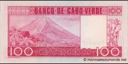 Cap - Vert - p54 - 100 Escudos - 20.01.1977 - Banco de Cabo Verde