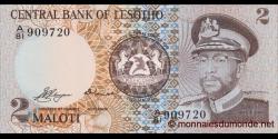Lesotho - p04a - 2 Maloti - 1981 - Central Bank of Lesotho