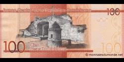 République Dominicaine - p190a - 100 Pesos Dominicanos - 2014 - Banco Central de la República Dominicana