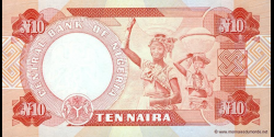 Nigeria - p25g - 10 Naira - 2003 - Central Bank of Nigeria