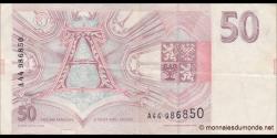 République tchèque - p4 - 50 Korun Českých - 1993 - Česká Národní Banka