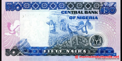Nigeria - p27e - 50 Naira - 2004 - Central Bank of Nigeria