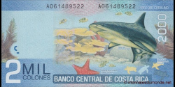 Costa - Rica - p275b - 2.000 Colones - 2013 - Banco Central de Costa Rica