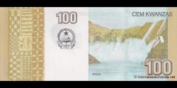 angola - p153b - 100 kwanzas - 10.2012 - Banco Nacional de Angola