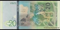 São Tomé-et-Príncipe - p72a - 20 Dobras - 2016 - Banco Central de S. Tomé e Príncipe