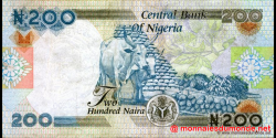 Nigeria - p29a - 200 Naira - 2000 - Central Bank of Nigeria