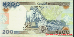 Nigeria - p29h - 200 Naira - 2009 - Central Bank of Nigeria
