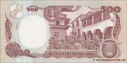 Colombie - p431Ab -500 Pesos oro - 4.01.1983 - Banco de la República