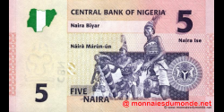 Nigeria - p32a - 5 Naira - 2006 - Central Bank of Nigeria