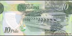 Botswana - p35a - 10 Pula - 2018 - Bank of Botswana / Banka ya Botswana