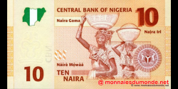 Nigeria - p33a - 10 Naira - 2006 - Central Bank of Nigeria