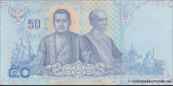 Thaïlande - p136 - 50Baht - 2018 - Bank of Thailand