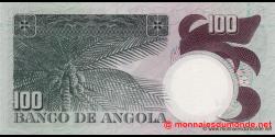 angola - p106 - 100 escudos - 10.06.1973 - Banco de Angola