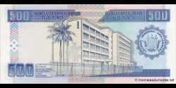 Burundi - p37A - 500 Francs - 05.02.1995 - Banque de la République du Burundi / Ibanki ya Republika y'Uburundi