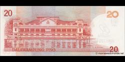 Philippines - p200 - 20Piso - 2009 - Bangko Sentral ng Pilipinas