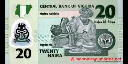 Nigeria - p34a - 20 Naira - 2006 - Central Bank of Nigeria