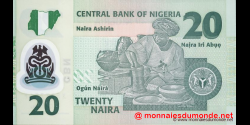 Nigeria - p34e - 20 Naira - 2009 - Central Bank of Nigeria