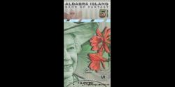 Iles Aldabra, 5 dollars, 2018