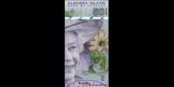 Iles Aldabra, 50 dollars, 2018