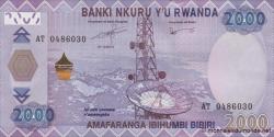 Rwanda - p40a - 2000 Francs - 01.12.2014