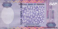 Rwanda - p40a - 2 000 Francs - 01.12.2014