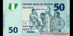 Nigeria - p35a - 50 Naira - 2006 - Central Bank of Nigeria