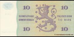 Finlande - p112a20 - 10Markka / Mark - 1980 - Suomen Pankki / Finlands Bank