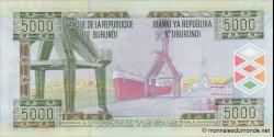 Burundi - p48a - 5 000 Francs - 2008