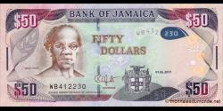 Jamaïque - p94c - 50 Dollars - 01.06.2017
