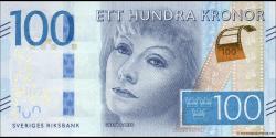 Suède - p71b - 100Kronor - ND (2016) - Sveriges Riksbank