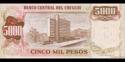 Uruguay - p57 - 5 Nuevos Pesos - ND (1975) - Banco Central del Uruguay