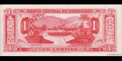 Honduras - p055b - 1 Lempira - 1972 - Banco Central de Honduras