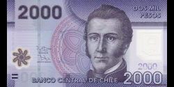 Chili - p162c - 2.000 Pesos - 2013 - Banco Central de Chile
