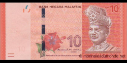 Malaisie - p53b - 10 Ringgit - ND (2011) - Bank Negara Malaysia
