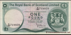 Ecosse - p336c - 1 Pound Sterling - 1.05.1975 - Royal Bank of Scotland