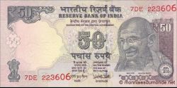 Inde - P-104x - 50 Roupies - 2017 - Reserve Bank of India