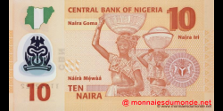 Nigeria - p39b2 - 10 Naira - 2010 - Central Bank of Nigeria
