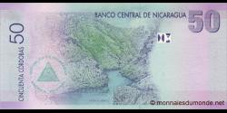 Nicaragua - p203 - 50 Córdobas - Res. 12.09.2007 - Banco Central de Nicaragua