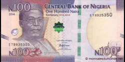 Nigeria - p41 - 500 Naira - 2014 - Central Bank of Nigeria