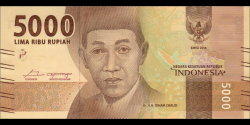 Indonésie - p156c - 5.000Roupies - 2018 - Bank Indonesia