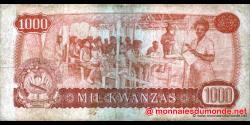 angola - p117 - 1000 kwanzas - 14.08.1979 - Banco Nacional de Angola