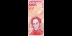 Venezuela - p99b - 20 000 Bolívares - 13.12.2017 - Banco Central de Venezuela