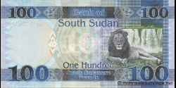 Sud - Soudan - p15c - 100 Pounds - 2017 - Bank of South Sudan