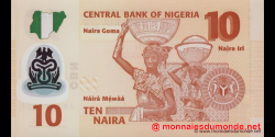 Nigeria - p39c - 10 Naira - 2011 - Central Bank of Nigeria