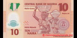 Nigeria - p39d - 10 Naira - 2013 - Central Bank of Nigeria